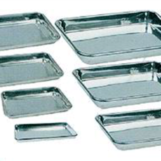 Instrument Trays - Stainless steel