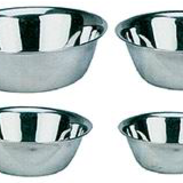 Bowls - Stainless Steel